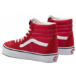 VANS SK8-HI  #  Racing red / True white