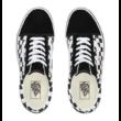 VANS Old Skool Platform (Checkerboard)  #  Black / White