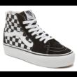 VANS SK8-HI Platform 2 (Checkerboard)  #  Checkerboard / True white