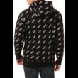 VANS Allover Distorted Performance PO  #  Black / White kapucnis pulóver
