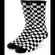 VANS Checkboard Crew  #  Black / White kockás zokni