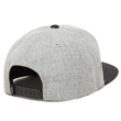 VANS Drop V II Snapback  #  Heather grey / Black