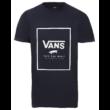 VANS Print Box  #  Dress blues / White