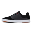 DC Plaza TC S  #  Black / Dk grey / athletic red