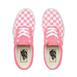 VANS Era (Checkerboard)  #  Strawberry pink / True white