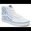 VANS SK8-HI (I Heart Vans)  #  True white / True white