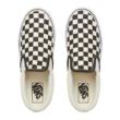 VANS Classic Slip-on Platform  #  Black & White checker / White