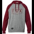 FOX Crest PO - Heather Graphite kapucnis pulóver