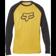 FOX Tournament LS Tech - Mustard Technikai hosszú ujjú póló