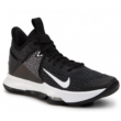NIKE Lebron Witness IV - Black / White / Iron grey cipő