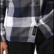 VANS Box Flannel - White / Dress blue ing