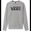 VANS Classic Crew - Cement heather / Black környakas pulóver