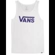 VANS Classic Tank  #  White / Vans purple