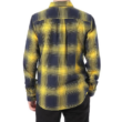 VANS Monterey lll - Dress blues / Lemon chrome kockás flanel ing