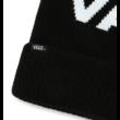 VANS Stripe Pom - Black / White kötött sapka