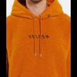 VOLCOM Hever PO - Inca gold sherpa belebújós kapucnis pulóver