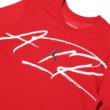 Jordan Dry M J Script DFCT - Gym red / White póló