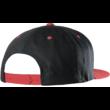 ETNIES Corp Snapback  #  Black / Red