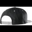 ETNIES Icon Snapback - Black / Silver baseball sapka