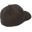 volcom_full_stone_flexfit_Dark charcoal