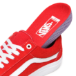 VANS Old Skool Pro (Suede) #  Red / White