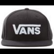 VANS Drop V II Snapback  #  Black / White