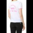 VANS Rally Bell  #  White / Green ash női póló