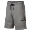 JORDAN Jumpman Air Fleece Short - Carbon heather / Black rövidnadrág