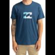 BILLABONG Team Wave - Denim blue póló