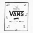 VANS Classic Print Box- White / Beach ditsy póló