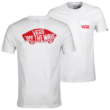 VANS OTW Classic - White / High Risk Red póló