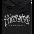 THRASHER  Flame Po  #  Black / Black
