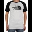 THE NORTH FACE Raglan Easy Tee White Black