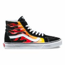 VANS SK8-Hi Reissue (Flame) láng mintás vans magas szárú cipő fehér vans b2317945a5