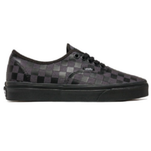 VANS Authentic fekete szürke kockás tornacipő fekete gumitalppal