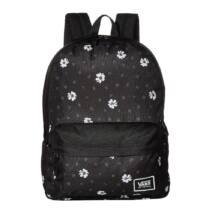 fekete vans realm hátizsák fehér kis virágokkal f9034bb951
