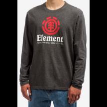 ELEMENT Vertical LS  Charcoal heather