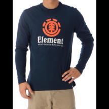 ELEMENT Vertical LS - Eclipse navy hosszú ujjú póló