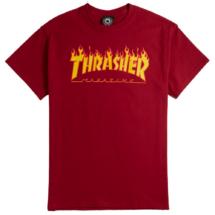 TRASHER Flame - Cardinal red póló