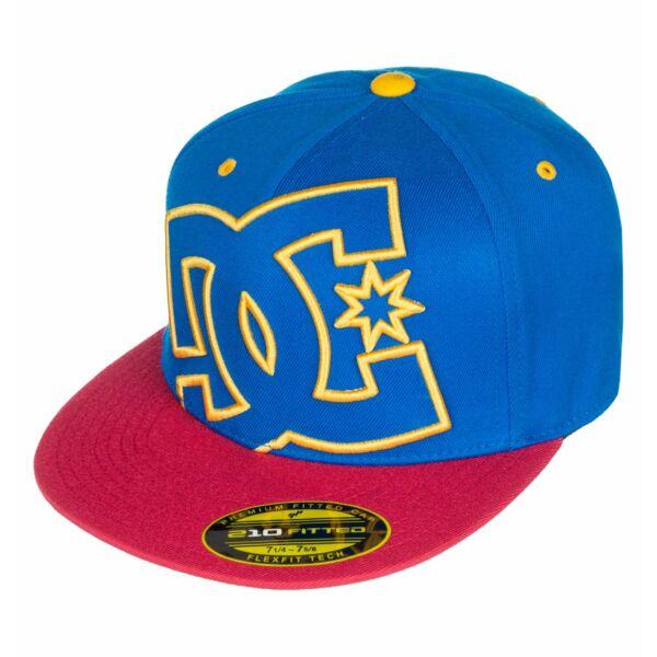 royal flexfit baseball sapka sárga himzett nagy DC logóval,piros sild