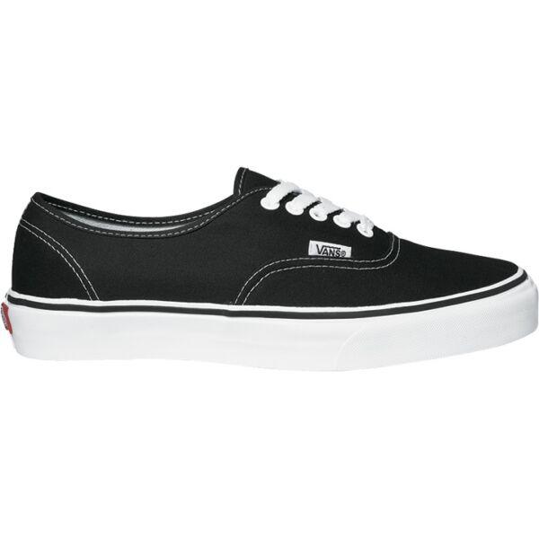 vans fekete tornacipő
