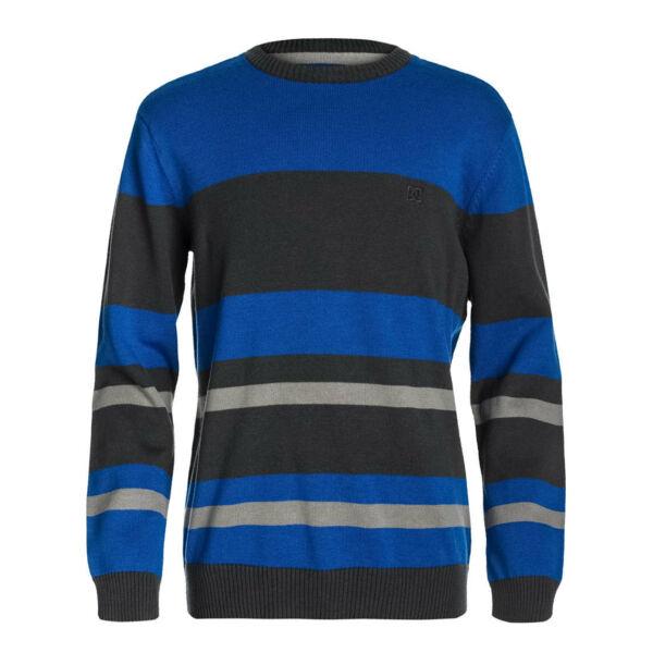 DC Marble  #  Blue vékony kötött pulóver,100 % pamut.