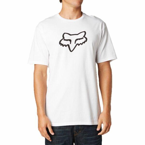 fehér fox póló fekete fox logóval