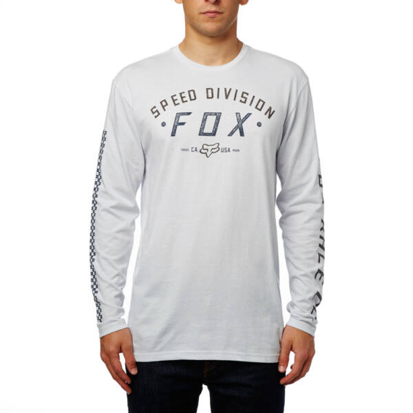 világos szürke fox vékony hosszú ujjú póló
