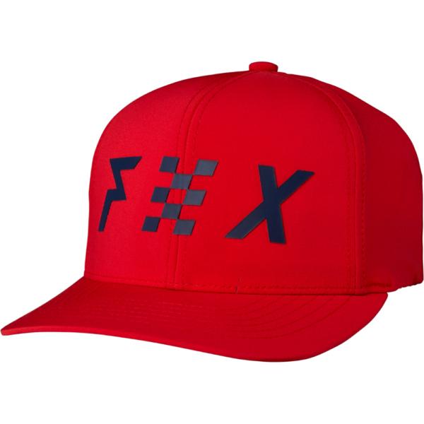 piros fox technikai snapback baseball sapka