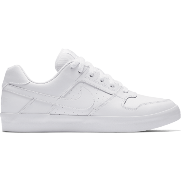57a45dafb2 Nike SB Delta Force vulc fehér gördeszkás bőr cipő fehér nike pipával