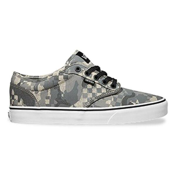 vans atwood camo szürke terepmintás vászon vans cipő