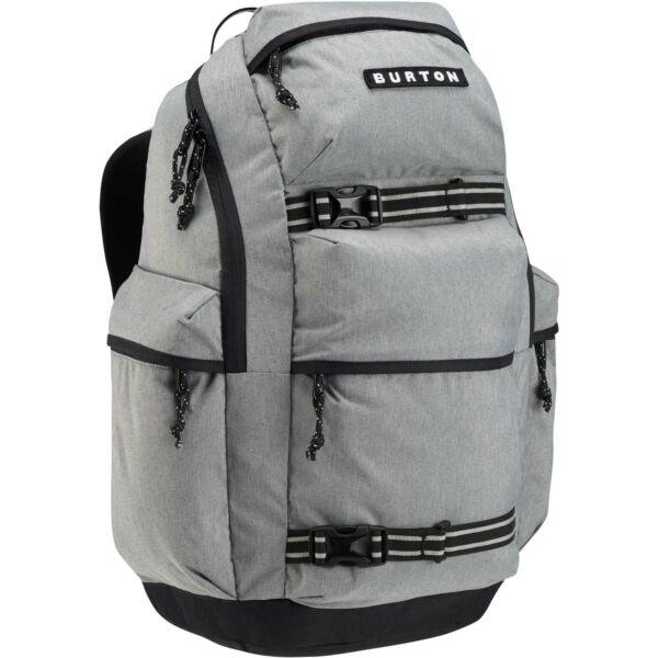 világos szürke 27 literes gördeszka tartós burton hátizsák