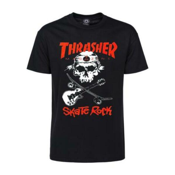 THRASHER  Skate Rock fekete póló