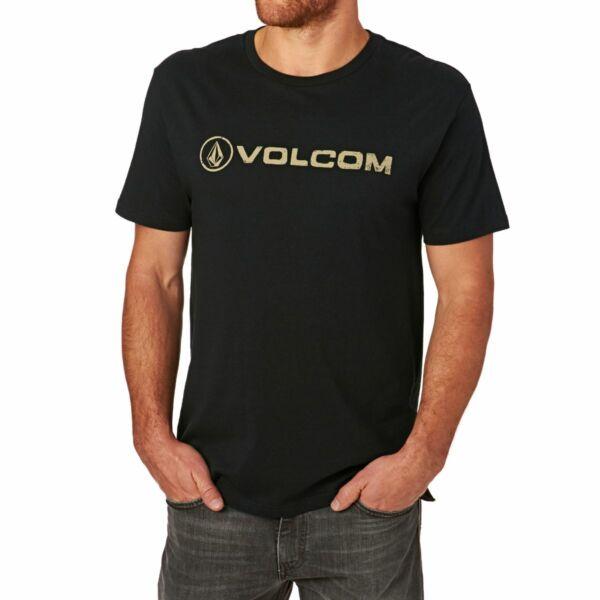 fekete Volcom póló volcom felirattal